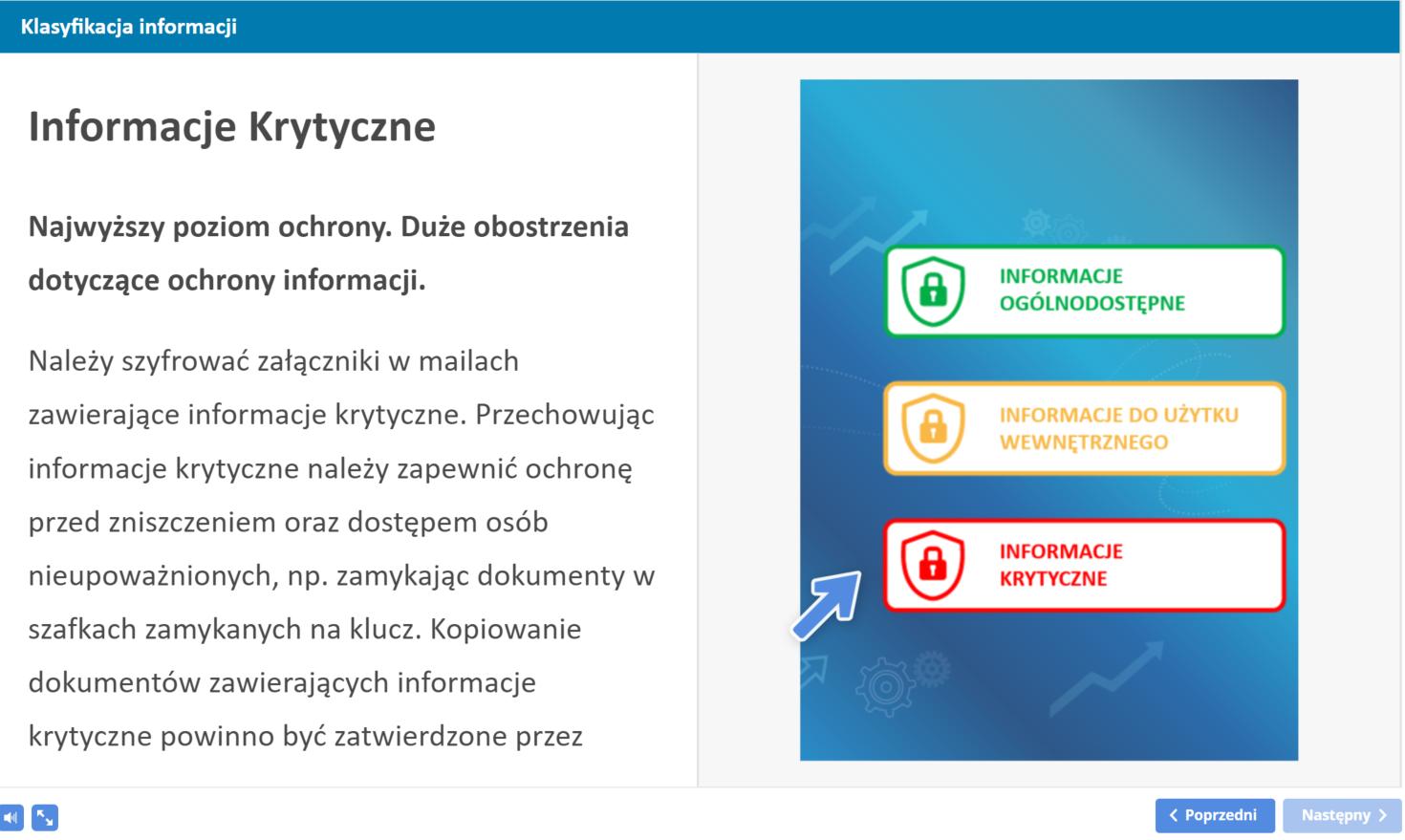 Szkolenie z bezpieczeństwa informacji